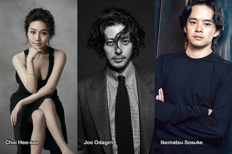 CHOI Hee-seo collabora con Joe ODAGIRI e IKEMATSU Sosuke in ANGEL OF ASIA