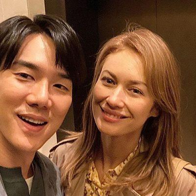YOO Yeon-seok in MATIN CALME con Olga Kurylenko