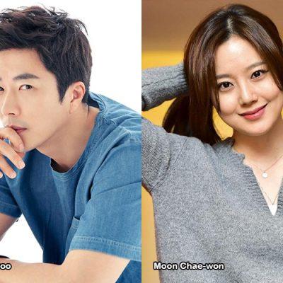 Kwon Sangwoo e Moon Chaewon in WE GROW UP
